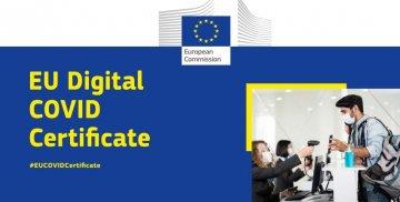 EU Digital COVID Certificate #EUCOVIDCertificate