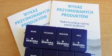 Pojemniki na leki oraz wykazy przyjmowanych leków