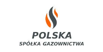 Logo Polskiej Spółki Gazownictwa - Akcja przewonienia gazu 2017
