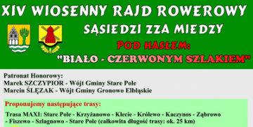 XIV Wiosenny Rajd Rowerowy
