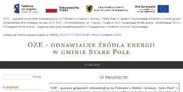 Strona dotycząca OZE