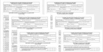 Protokoły wyników głosowania
